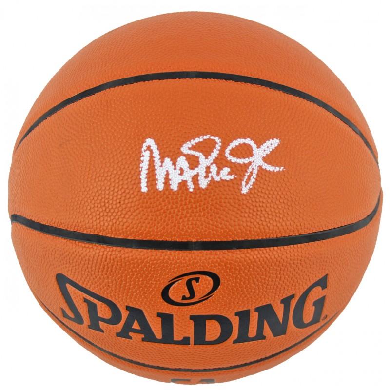 Magic Johnson Hand Signed Basketball