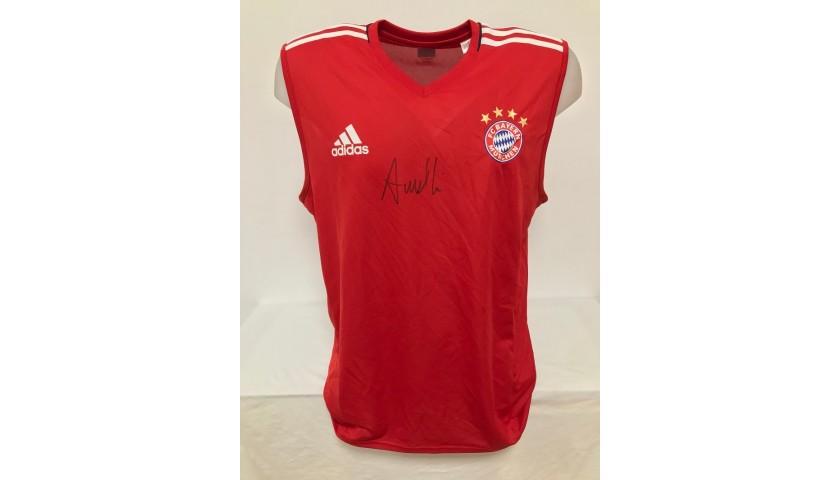 Bayern Munich Training Vest, 2014/15 - Signed by Ancelotti