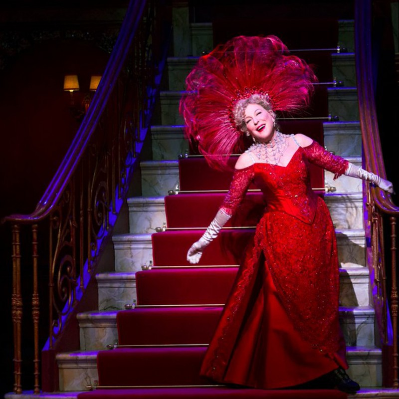 "Orchestra Seats to See Bette Midler in ""Hello, Dolly!"""