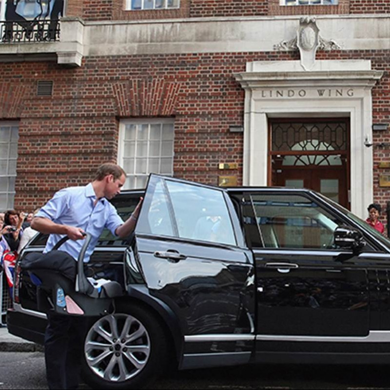 Prince William & Catherine's Range Rover Vogue SE