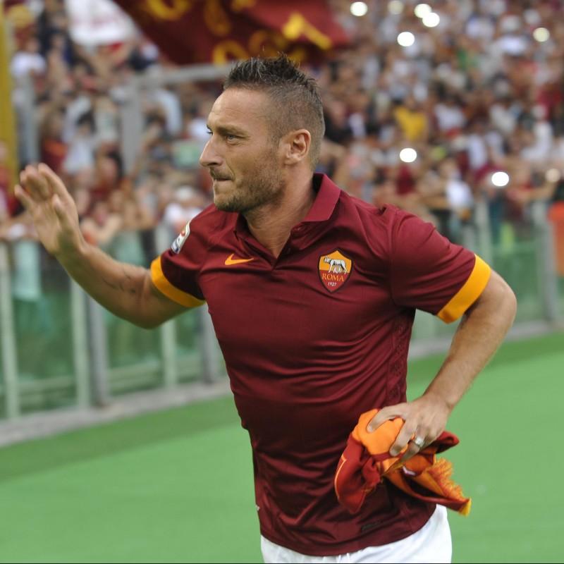 Francesco Totti Gift Set with Signed Captain's Armband