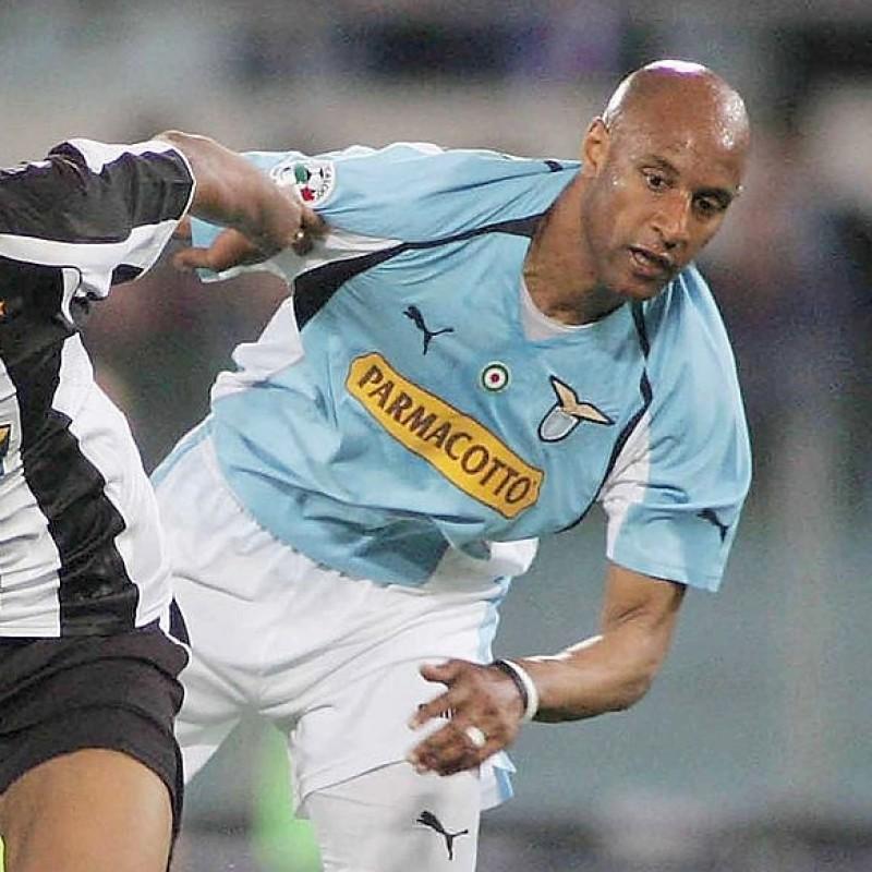 Dabo's Official Lazio Signed Shirt, 2004/05