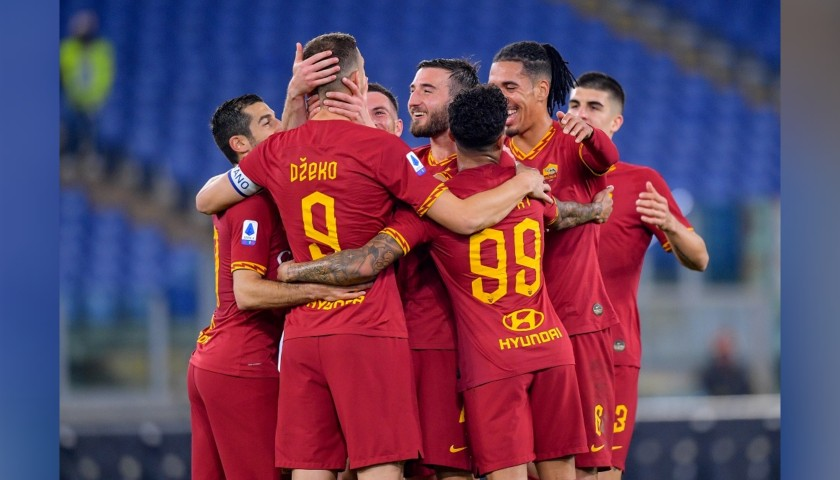 AS Roma Shirt, 2019/20 - Signed by the Squad