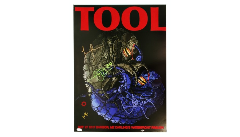 Tool Signed Poster