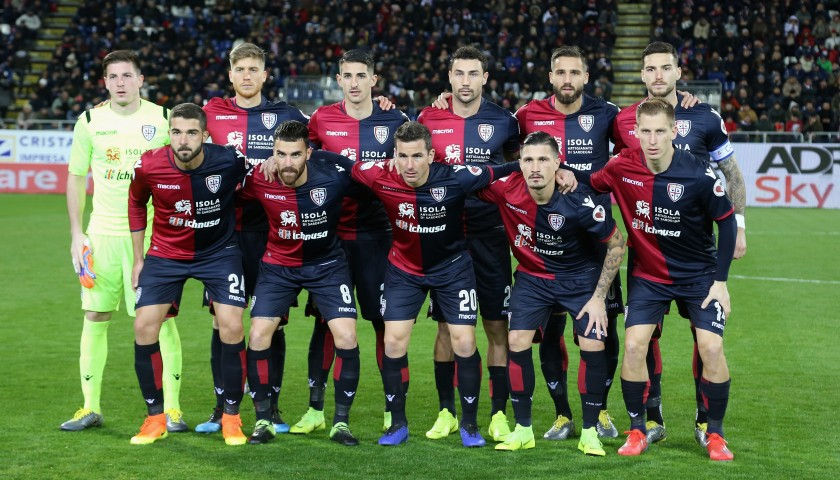 Enjoy Lunch with the Cagliari Calcio Players