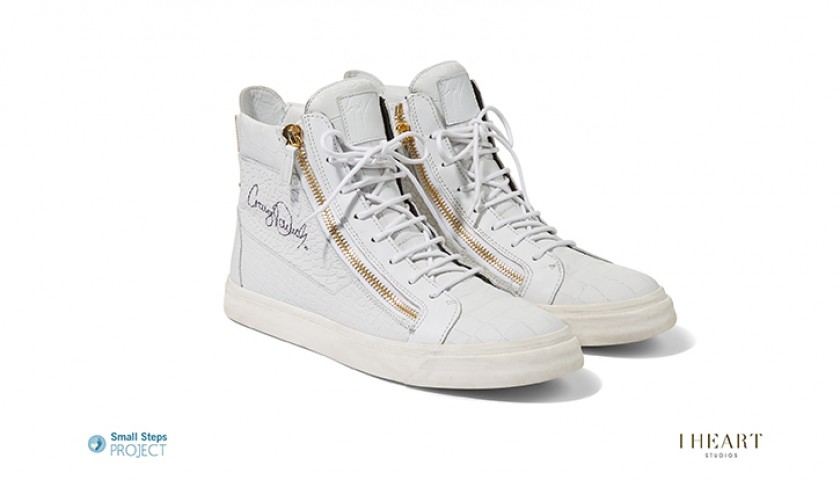 Craig David Signed Shoes