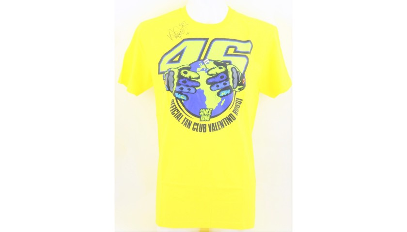 Fan Club VR46 T-Shirt - Signed by Valentino Rossi