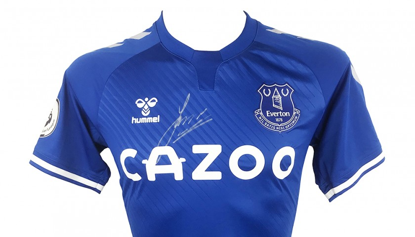 Rodriguez's Everton FC Premier League 2021 Signed Shirt