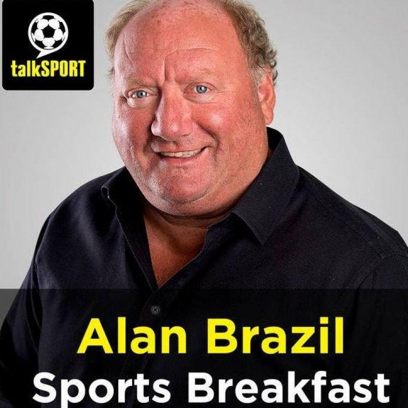 Watch Alan Brazil LIVE on his talkSPORT radio show