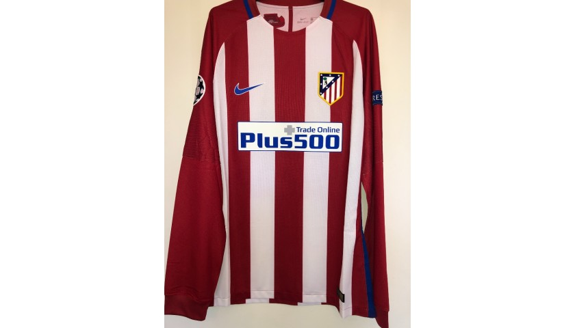 Torres' Match Shirt, Atletico Madrid-Bayern Munich 2016