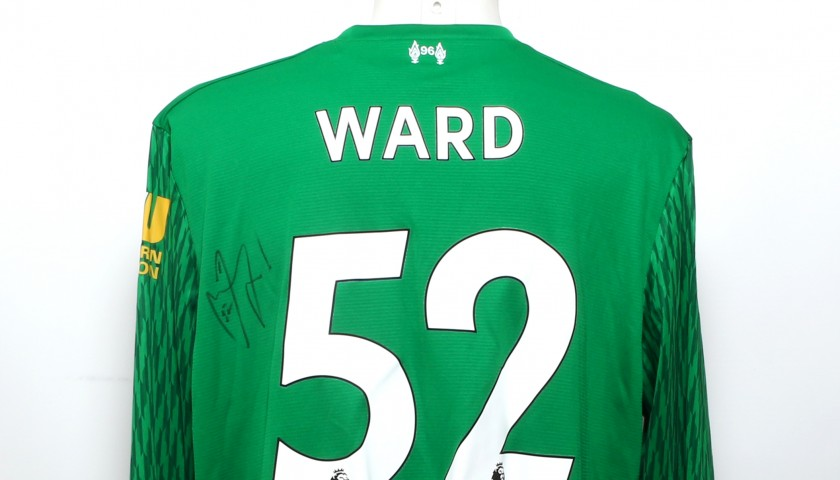 "Ward Signed Limited Edition ""Seeing is Believing"" 2017/2018 Liverpool FC shirt"