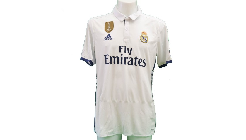 best sneakers 71955 9d22a Marcelo's Real Madrid Match-Issue/Worn Shirt, UCL 2016/17 - CharityStars