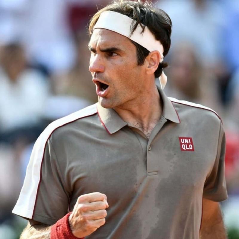 Artengo Racquet Signed by Roger Federer