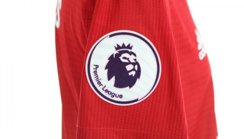 Sanchez's Manchester United Match Shirt, PL 2018/19