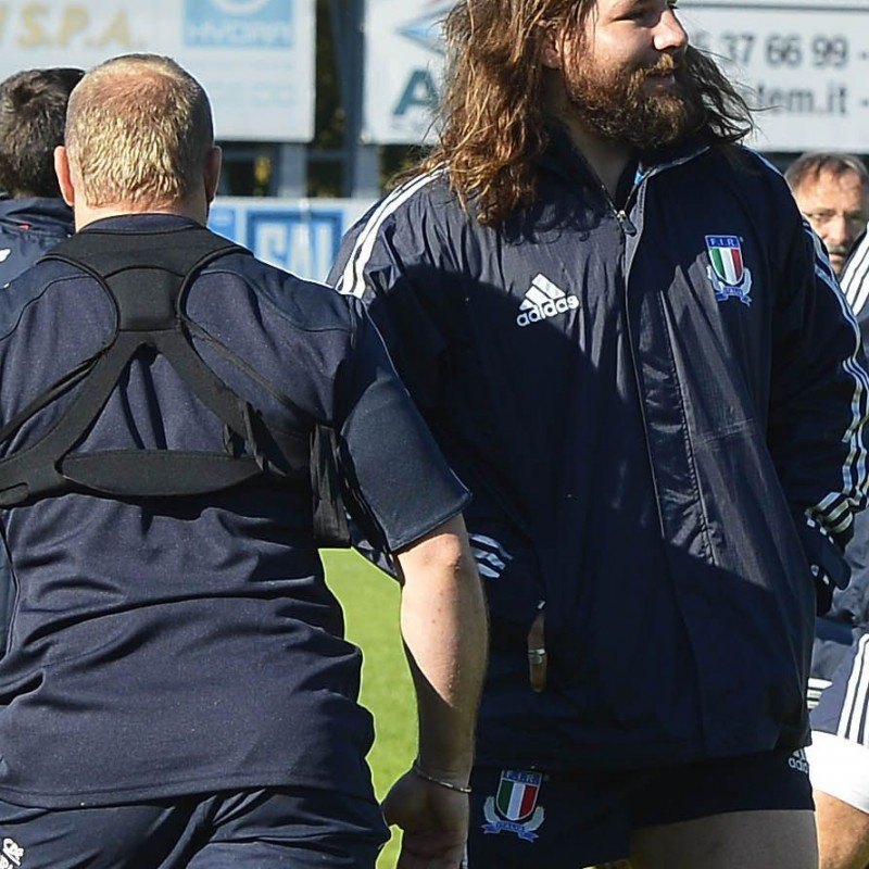Follow ItalRugby training with Castrogiovanni and have a lunch with the team