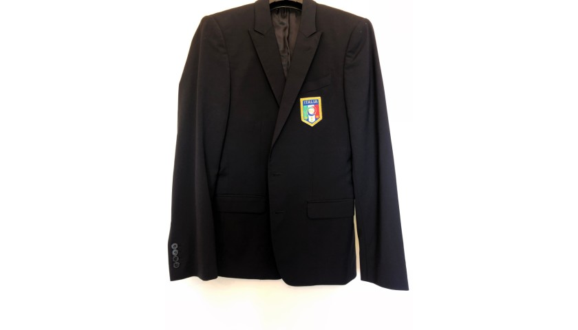 Italy National Football Team Suit Worn by Alberto Aquilani