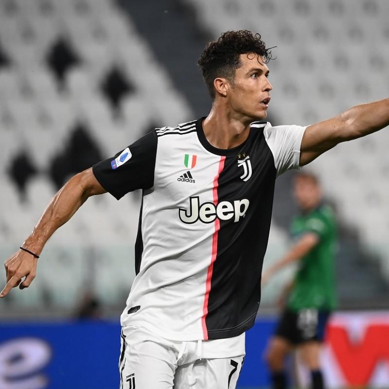 Ronaldo's Authentic Juventus Signed Shirt, 2019/20