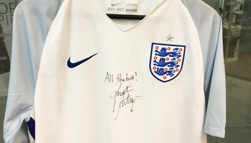 Win a full Nike Football Kit for you and your team, and an exclusive signed shirt from England Manager Gareth Southgate