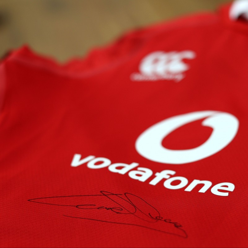 Lions 2021 Test Shirt - Worn and Signed by Conor Murray