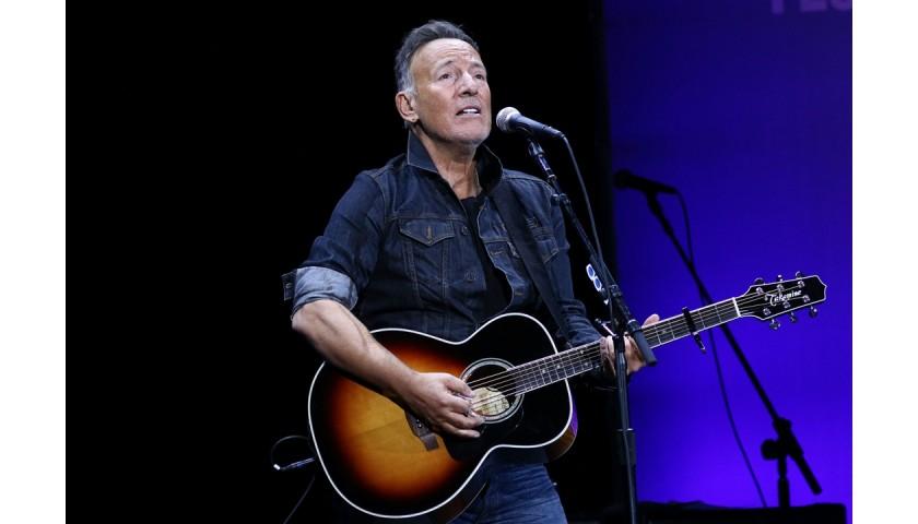 Bruce Springsteen Signed Corvette Photograph