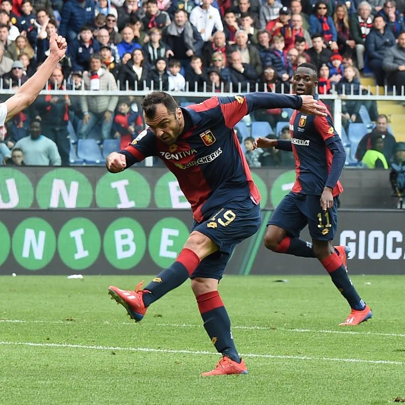 Shirt Worn by Pandev for the Genoa-Juventus Match