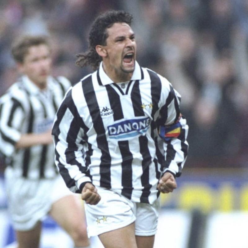 Baggio's Juventus Match Shirt, season 1994/95