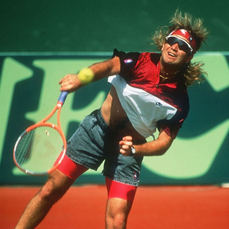 Andre Agassi's Donnay Racquet, 1990