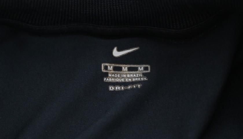 Julio Cesar's Flamengo Match-Issued Shirt, 2000/01