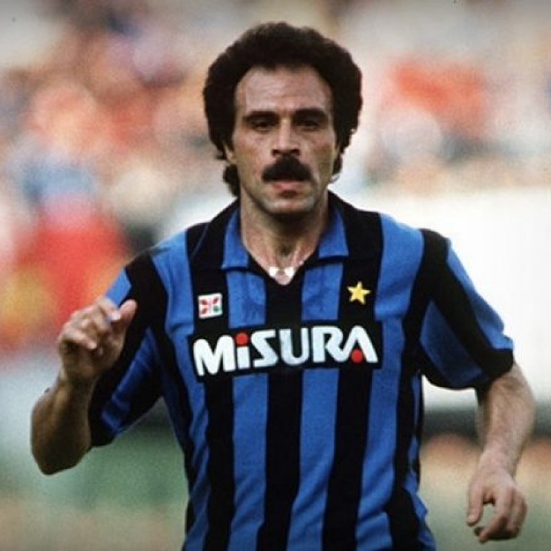 Causio's Match-Issued/Worn Inter Shirt - 1984/85