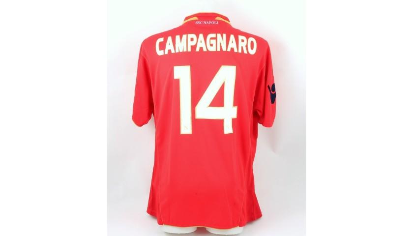 Maglia Campagnaro Napoli, indossata 2009/10