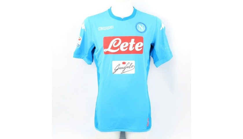 Koulibaly's Napoli Worn and Signed Shirt, 2017/18