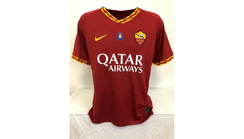 Zaniolo's Official Roma Signed Shirt, 2019/20 Tokidoki Edition