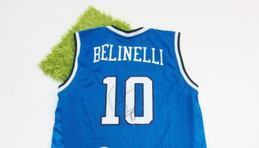 Marco Belinelli's autographed Italian National shirt