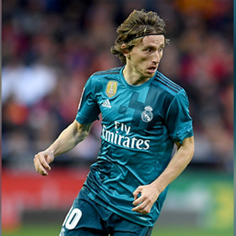 Maglia Modric preparata Supercopa de España 2017