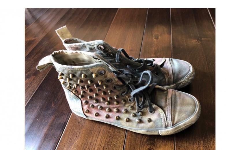 Avril's Personal John John Sneakers