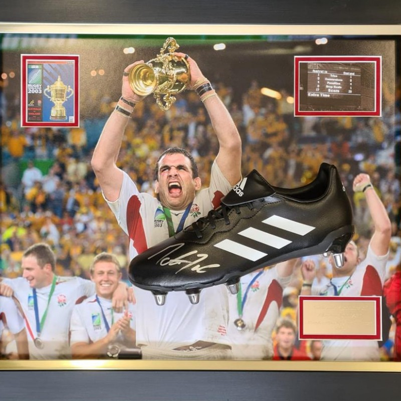 Martin Johnson 2003 Rugby Boot