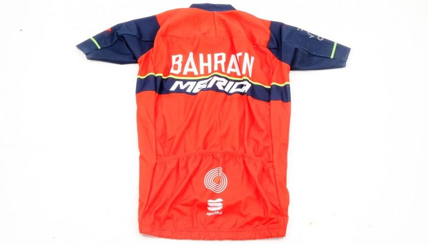 Official Vincenzo Nibali Bahrain Shirt, Signed