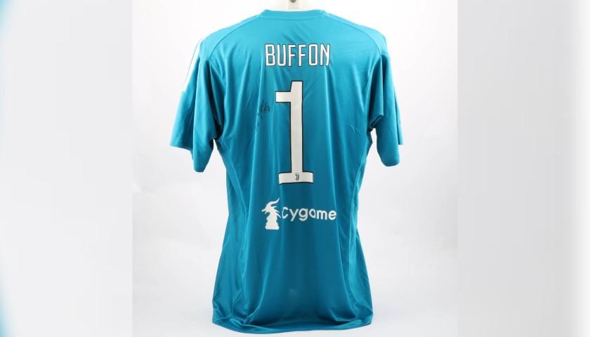 Buffon's Official 2017/18 Juventus Signed Shirt