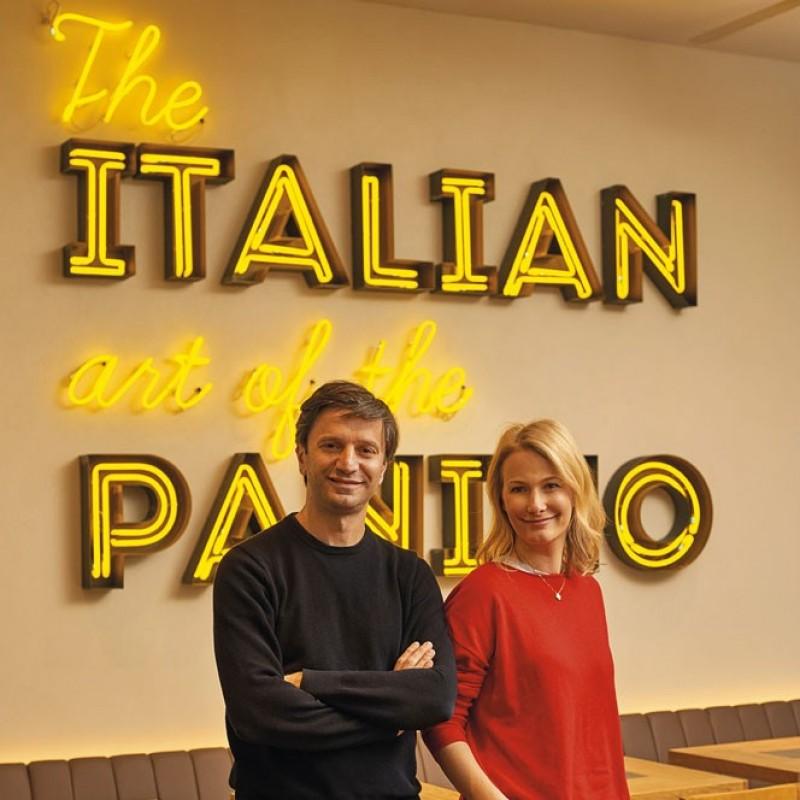 Meet Antonio and Elena, Owners of Panino Giusto, in Milan