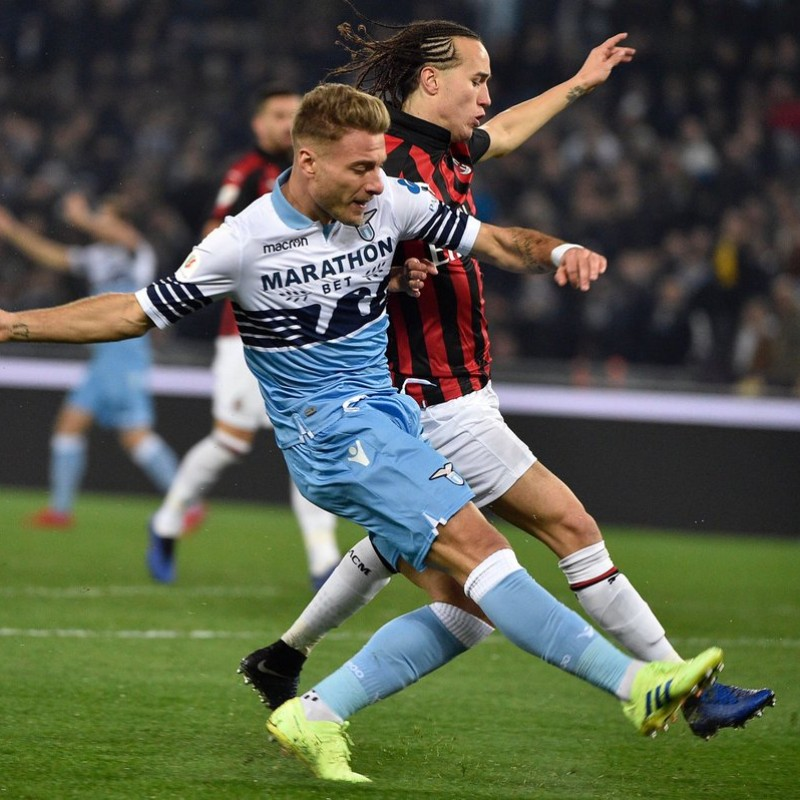 Immobile's Lazio Signed Shirt, TIM Cup 2019 Final