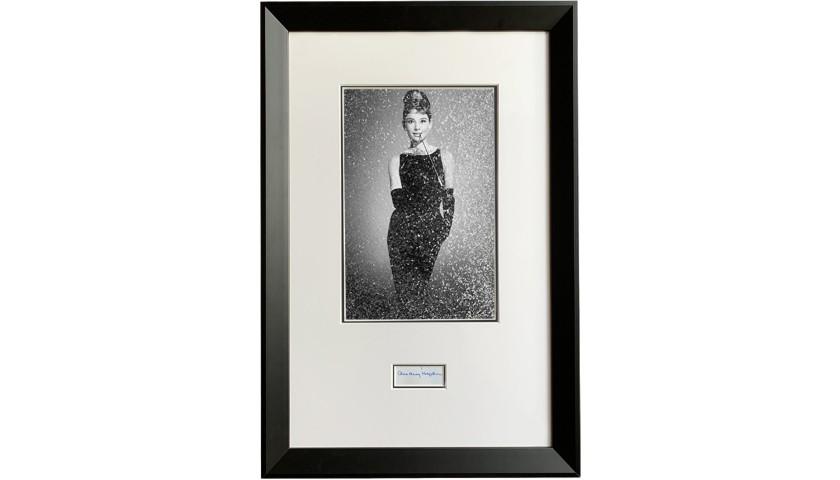"Audrey Hepburn ""Breakfast at Tiffany's"" Diamond Dust Signed Print"