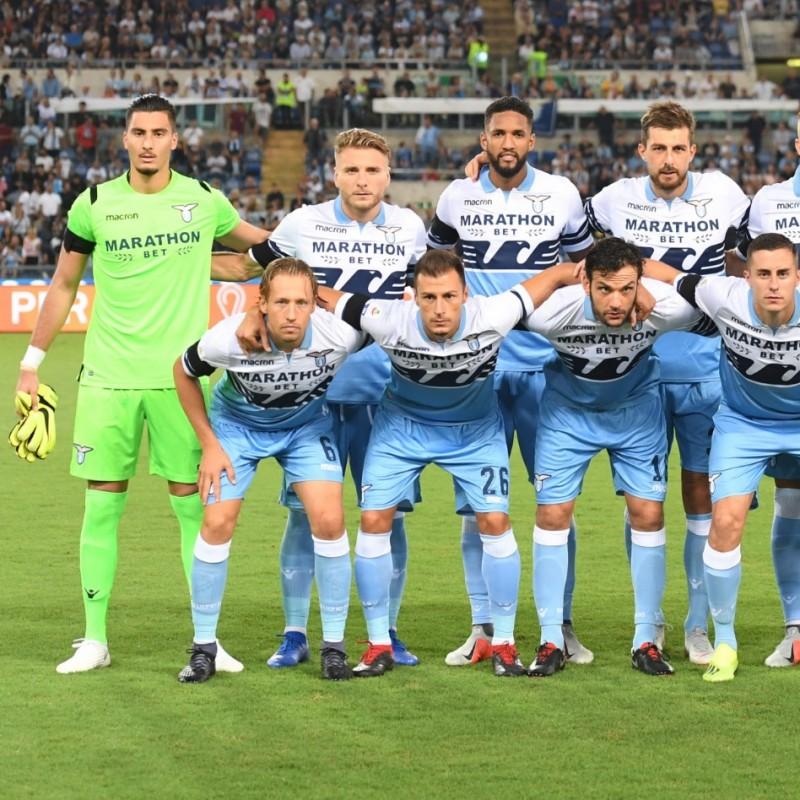Guerrieri's Worn Shirt, Lazio-Marseille 2018