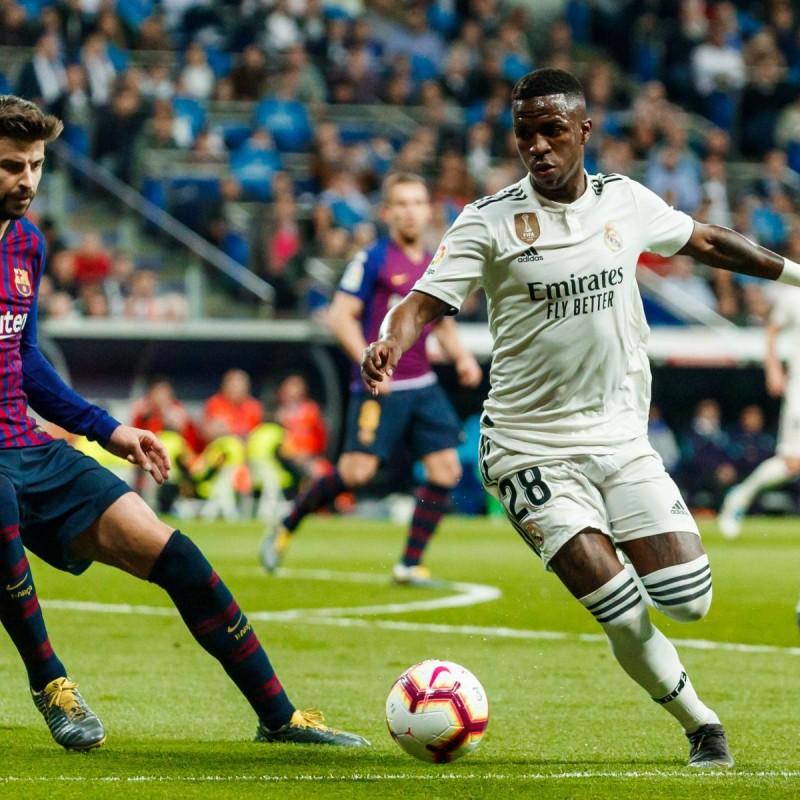 Vinicius Jr.'s Real Madrid Match Shirt, Liga 2018/19