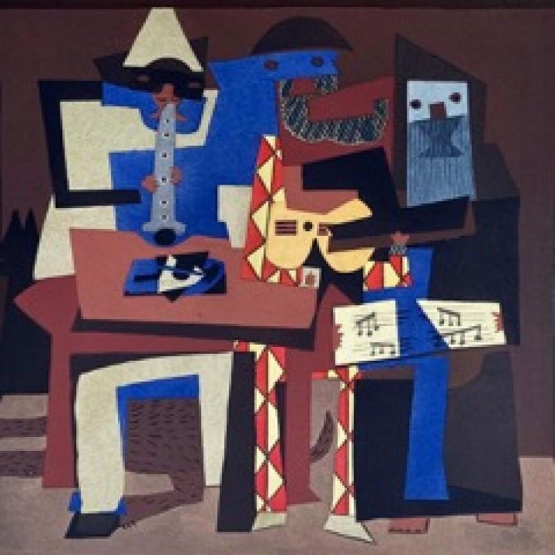 """""""Le Musicien de Rue"""" by Pablo Picasso"""