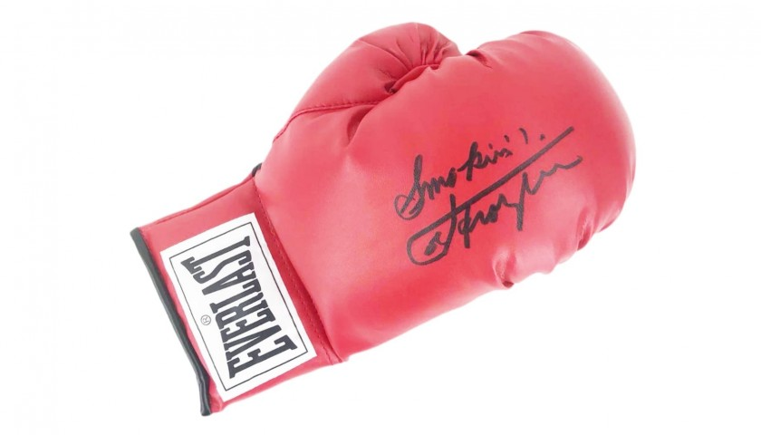 Everlast Boxing Glove Signed by Joe Frazier