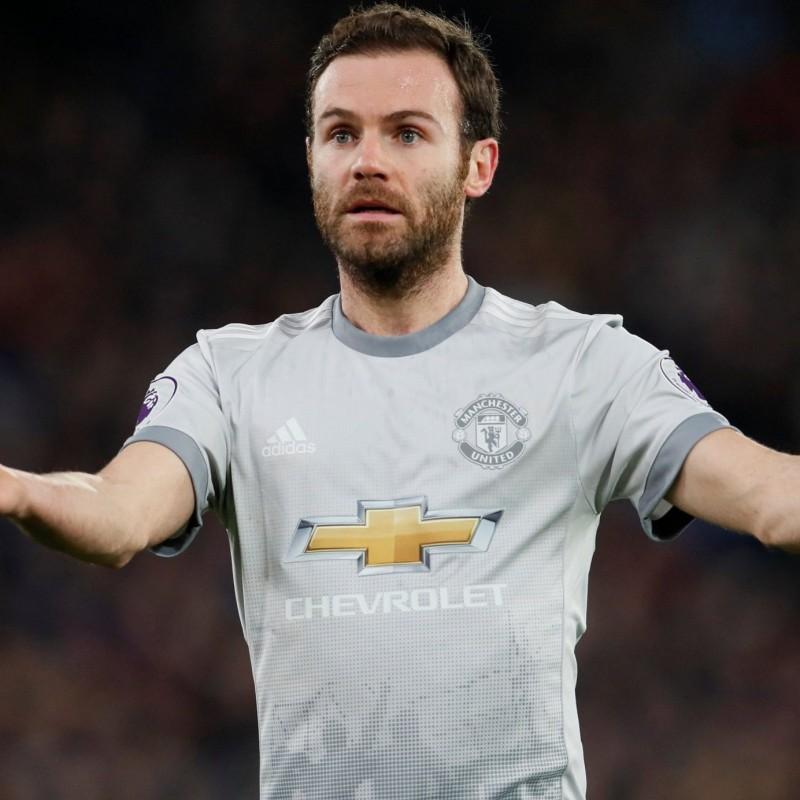 Mata's Match Shirt, Bristol-Manchester United 2017