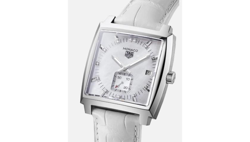 TAG Heuer Monaco Women's Quartz Luxury Watch