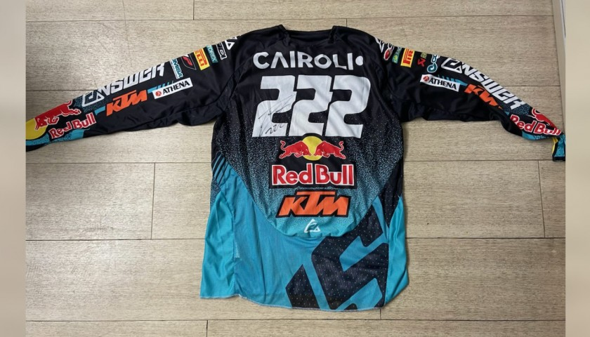 "Shirt Worn by Antonio ""Tony"" Cairoli - Signed with Dedication"