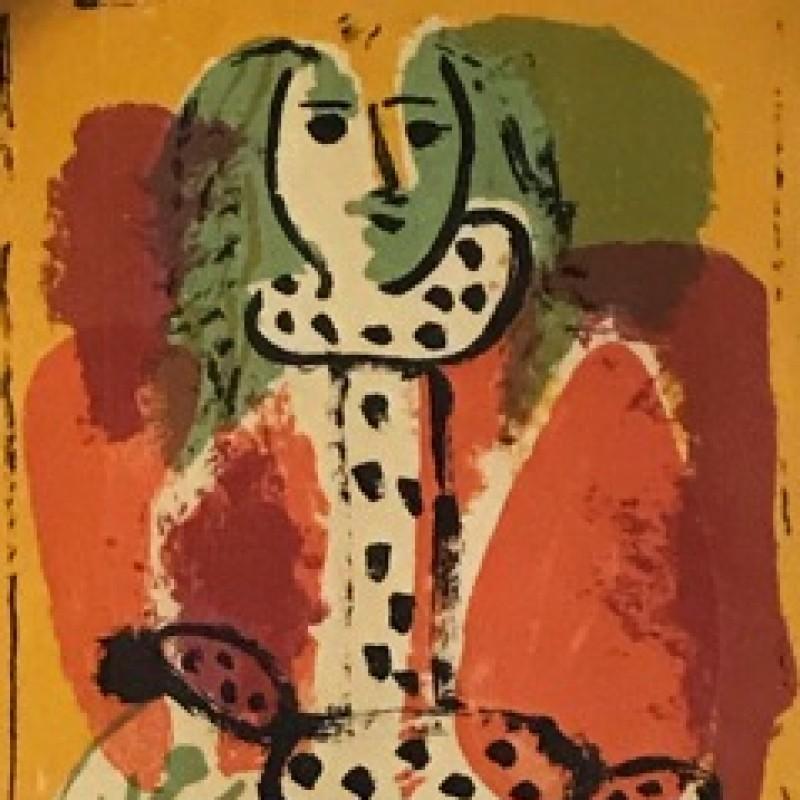 """""""Femme dans la Chaise"""" by Pablo Picasso"""
