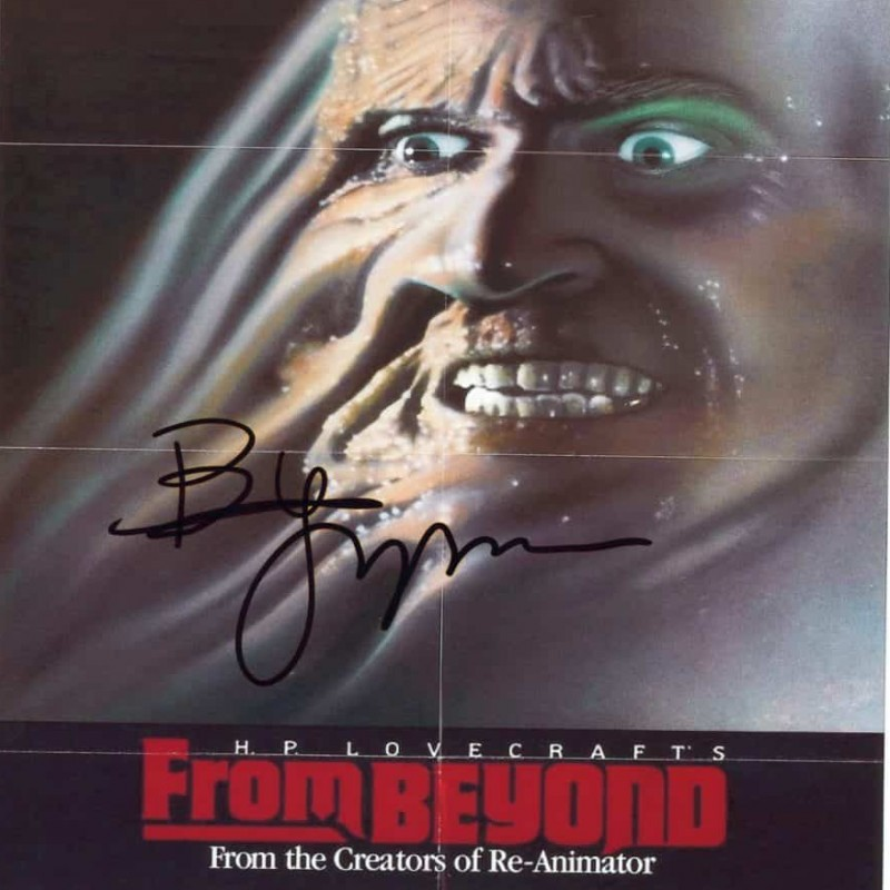 """From Beyond"" Brian Yuzna Signed Photograph"